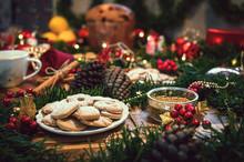 Christmas Ingredients Table Wi...