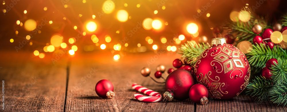 Fototapety, obrazy: Christmas decoration