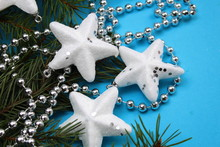 Texture Of Christmas Beads, St...