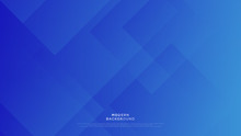 Dynamic Blue Background With Abstract Square Shape