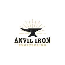 Anvil Iron Logo, Heavy Tool Workshop Welding , Equipment