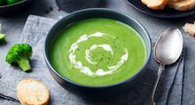 Broccoli, Spinach Cream Soup I...