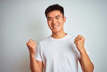 Young Asian Chinese Man Wearin...