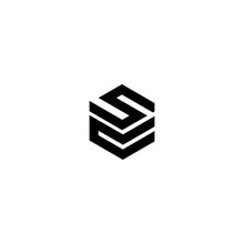 S C Letter Vector Logo Abstract