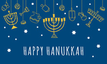 Traditional Hanukkah Objects H...