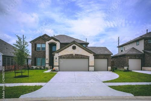 Stampa su Tela Texas New Construction Homes