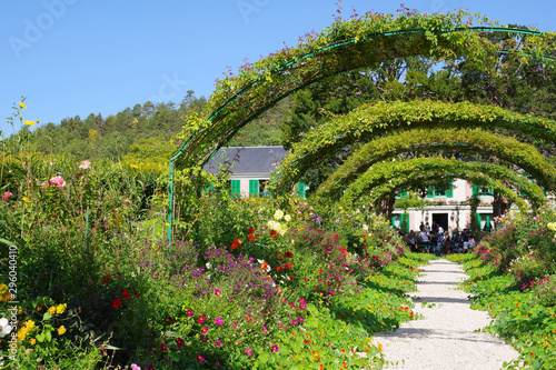 Haie du jardin de Claude Monet - 2 Slika na platnu