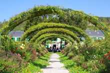 Haie Du Jardin De Claude Monet...
