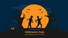 Happy Halloween Sale With Smar...