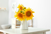 Beautiful Sunflower Flowers On...