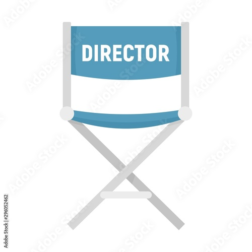 Film director chair icon Wallpaper Mural