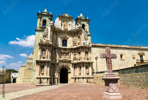 The Basilica of Our Lady of Solitude in Oaxaca de Juarez, Mexico