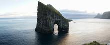 Drangarnir Sea Stack Rock In T...