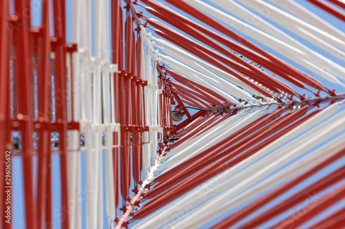 Abstract antenna Wallpaper Mural