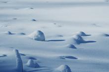 Snow In The Alps - Winter Scene