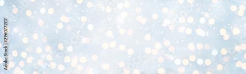 Panoramic Soft Christmas Background Fototapet