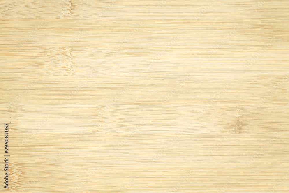 Bamboo surface merge for background, top view brown wood paneling. <span>plik: #296082057 | autor: sorrapongs</span>