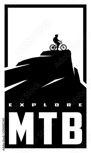 MTB explore Fototapeta