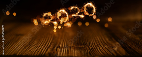 Fotografie, Tablou  Happy new year background