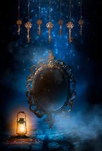Dark Night Magic Scene. Magic ...