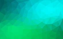 Modern Blue And Green Abstract...