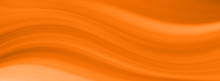 Abstract Orange Wavy Lines. Colorful Background. Wallpaper