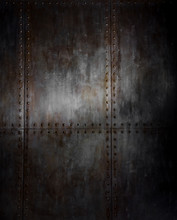 Threadbare Rusty Iron Background