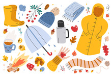Autumn Collection, Big Set Of ...