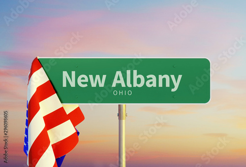 New Albany – Ohio Canvas-taulu