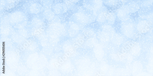 Fotografía  Winter holidays abstract background with beautiful bokeh lights and snowflakes i