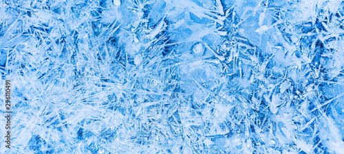 Fotografija Gefrorenes Eis im Winter