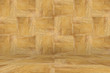 Leinwanddruck Bild - brown wall and floor wood background