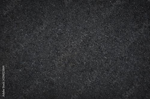 Poster Cailloux Black asphalt floor or road texture background.