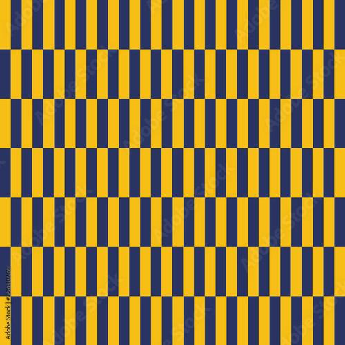 Fototapeta Sfondo con righe verticali alternate giallo e blu