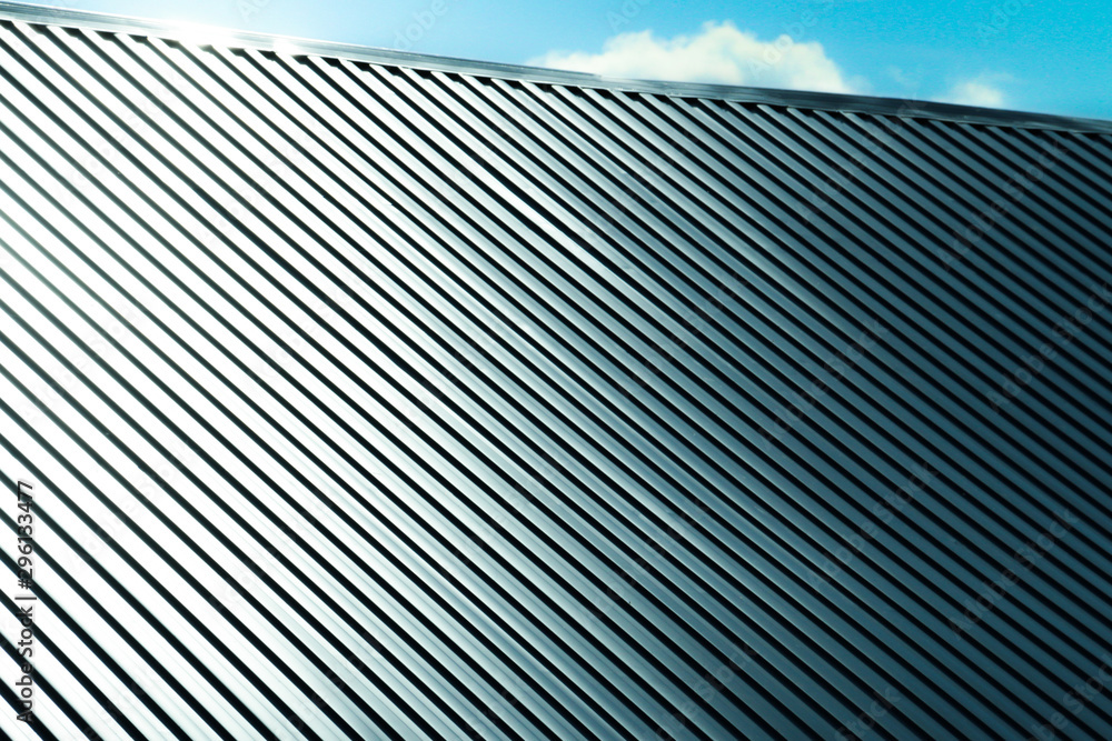 Fototapety, obrazy: Metal sheet for industrial building and construction