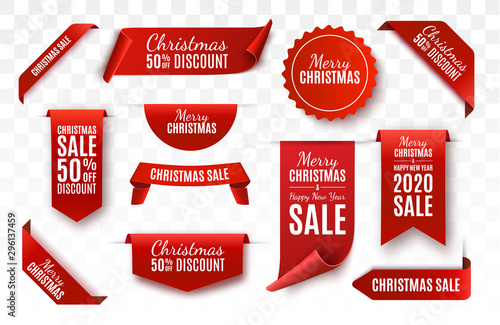 Cuadros en Lienzo Christmas Sale Tags collection