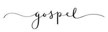 GOSPEL Vector Brush Calligraph...