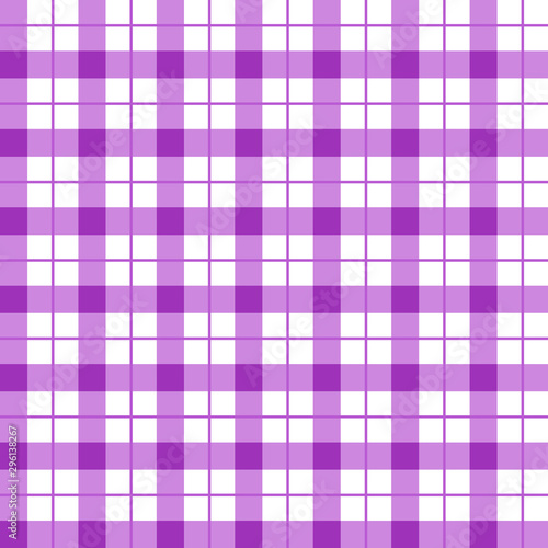 Tapeta fioletowa  purple-checkered-seamless-pattern-violet-and-white-plaid-texture-purple-gingham-seamless
