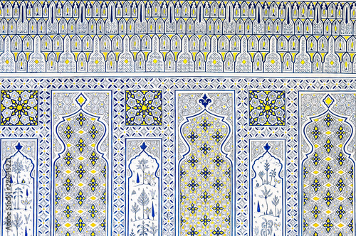 Islamic geometrical mosaic pattern Wallpaper Mural