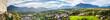 salzburger land and berchtesgaden high definition panorama