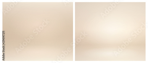 Fototapeta Beige studio lighting
