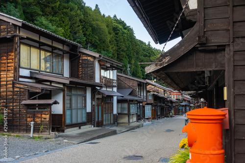 Obraz na plátně  奈良井宿