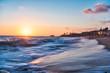 late summer sunset set in Laguna Beach California