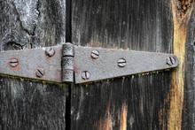 Vintage Old Barn Hinge