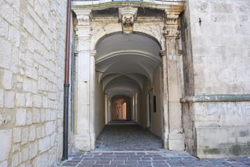 Città antica d'Abruzzo, Popoli, Italia