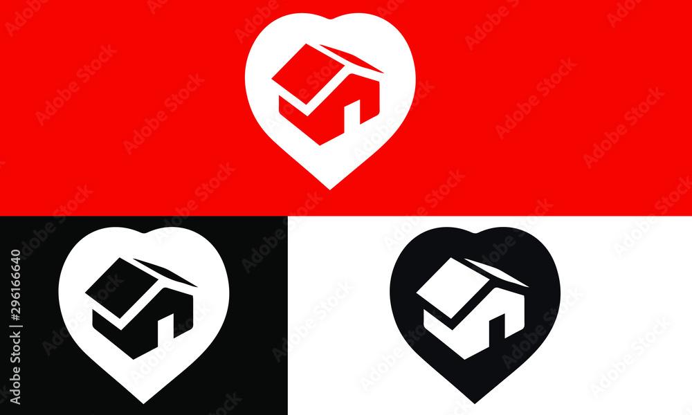 Fototapeta real estate icons vector design