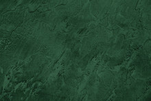 Close Up Of Abstract Dark Gree...