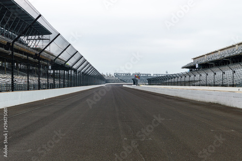 Fotografiet View of the Indianapolis Motor Speedway