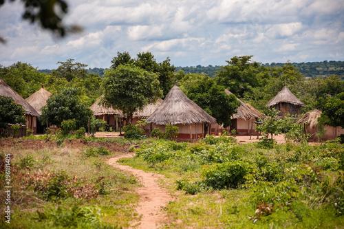 Obraz African village - fototapety do salonu