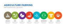 8 Colorful Agriculture Farming...